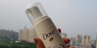 Dove 3 in 1 Make-up Removing Foaming Cleanser Review