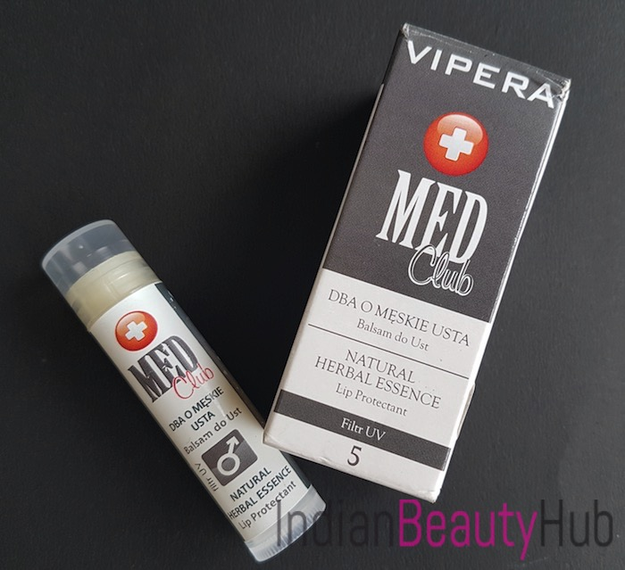 Vipera Med Club Natural Herbal Essence Lip Protectants Lip Balm Review