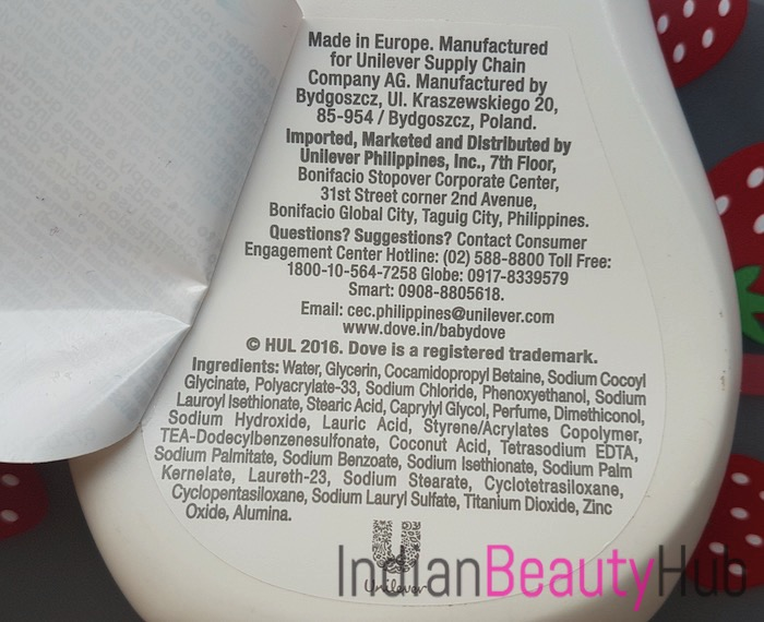 Baby Dove Rich Moisture Shampoo Review