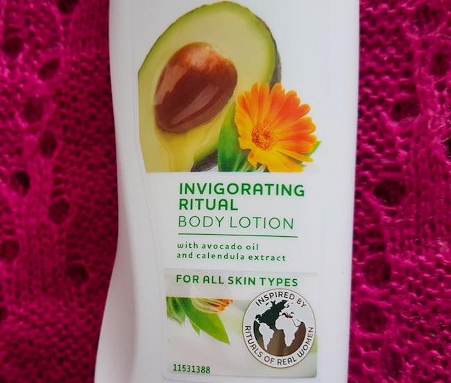 Dove Nourishing Secrets Avocado Invigorating Ritual Body Lotion Review