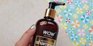 WOW Skin Science Anti-Dandruff Shampoo Review