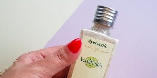 Vedantika Herbals Skin Polishing Scrub Review