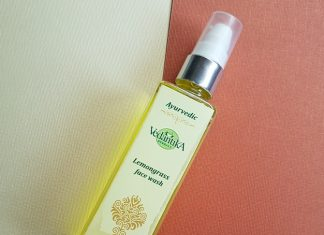 vedantika herbals lemongrass face wash review