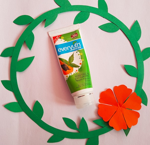 Everyuth Purifying & Exfoliating Neem Papaya Face Scrub Review