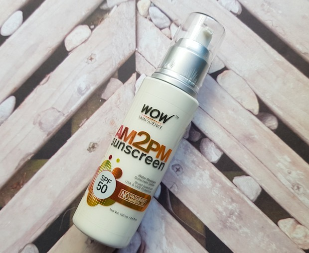 WOW AM2PM Sunscreen with SPF 50 Review