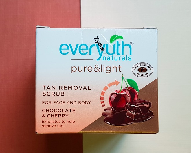 Everyuth Pure & Light Tan Removal Scrub Review