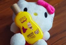 Lotus Herbals Baby+ Tender Touch Baby Body Lotion Review