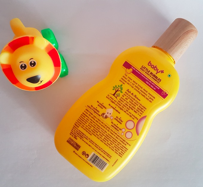 Lotus Herbals Baby+ Little Bubbles Body Wash & Shampoo Review