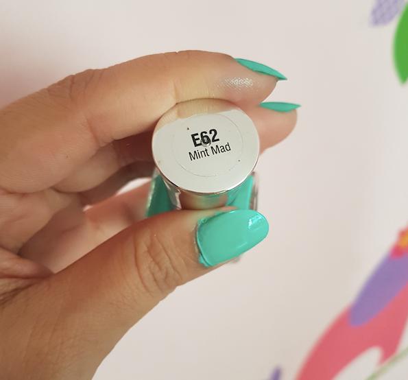 lotus makeup ecostay high shine nail enamel review