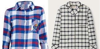 pajama shirt dress