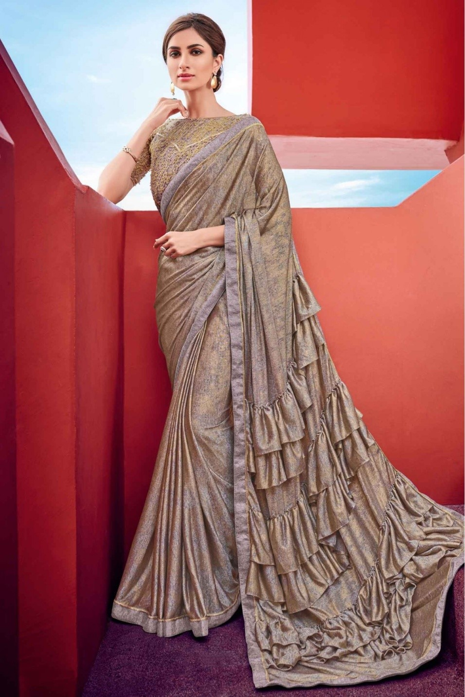 Ideal saree fabrics for different seasons