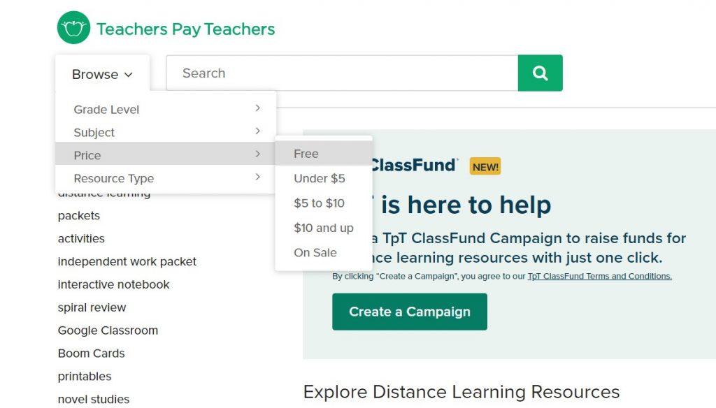 Teachers Pay Teachers Free Worksheets