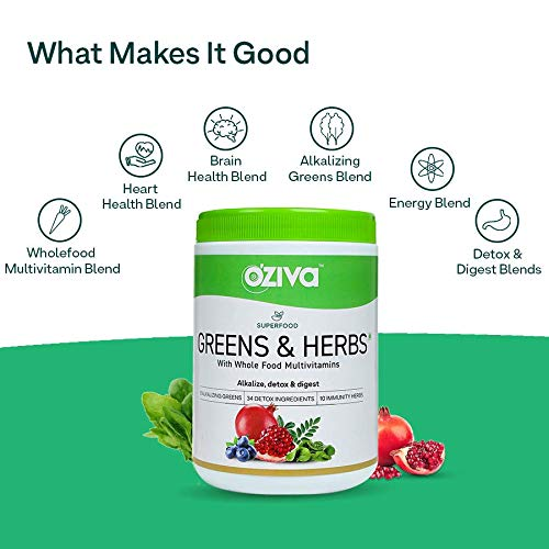 What Makes it Good - Oziva Superfood Greens & Herbs